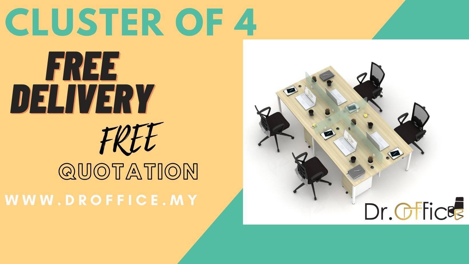 CLUSTER OF4 WORKSTATION